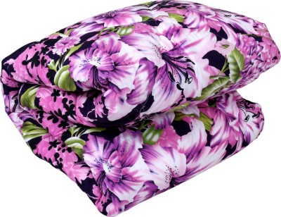 IndiWeaves Floral Single Quilts & Comforters Pink