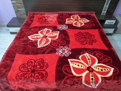 Florida Geometric Single Blanket Red