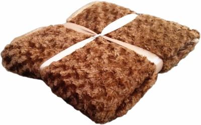 JK Handloom Plain Single Quilts & Comforters Brown