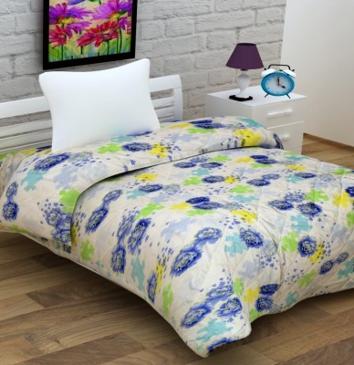 Enfin Homes Floral Single Quilts & Comforters Multicolor