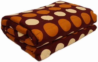 Esoft Polka Double Quilts & Comforters Multicolor