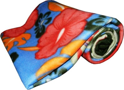 Expressions Floral Single Blanket Multicolor