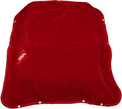 Ktm Home Boutique Plain Single Blanket Red