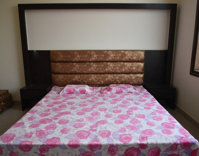 DHANI Printed Double Blanket Pink