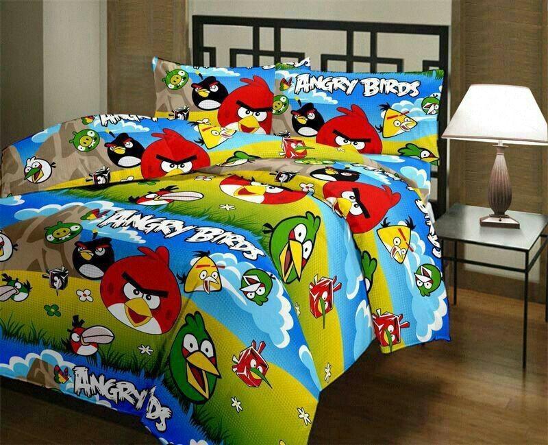 Blankets World Cartoon Single Blanket Multicolor(Blanket)
