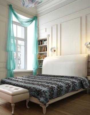 Needlecrest Paisley Double Quilts & Comforters Brown, Blue