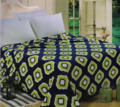 Welhouse Abstract Double Blanket Blue
