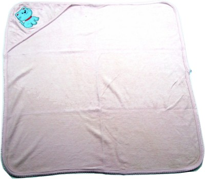 Ahad Plain Single Blanket Baby Pink