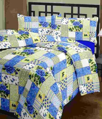 SR Crafts Printed Single Dohar Multicolor