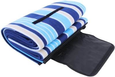 Pack N Buy Striped Crib Blanket Multicolor