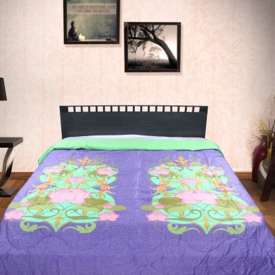 Portico New York Printed King Quilts & Comforters Blue
