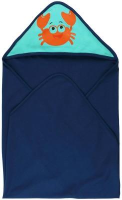 Babyoye Printed Single Swadding Baby Blanket Blue