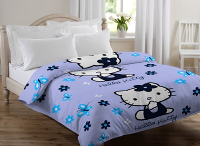 Bella Casa Animal Single Quilts & Comforters Light Blue