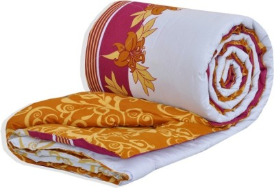 Salona Bichona Abstract Single Quilts & Comforters White