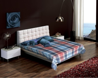 Raymond Home Checkered Single Blanket Blue