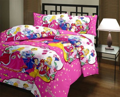 Blankets World Cartoon Single Dohar Multicolor