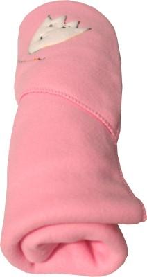 My NewBorn Cartoon Crib Hooded Baby Blanket Pink