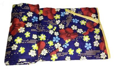 J K Bed Cover Printed Single Dohar Multicolor