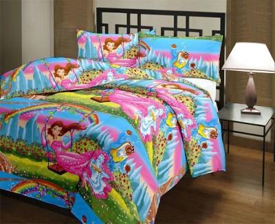 Blankets World Cartoon Single Blanket Multicolor