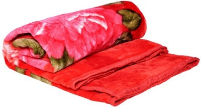 Mable Cartoon Double Blanket Multicolor