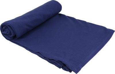 MOS-QUIT-O Checkered Single Blanket Dark Blue
