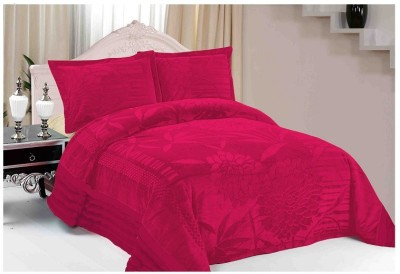 Florida Plain Single Quilts & Comforters Red