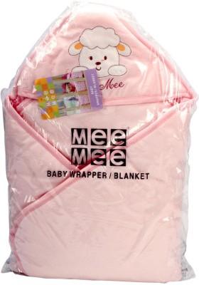 MeeMee Printed Single Blanket Pink