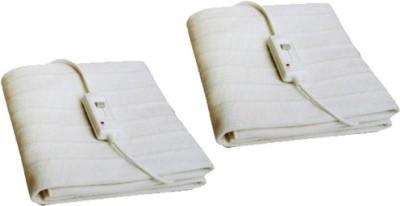 Urbanlifestylers Plain Single Electric Blanket White
