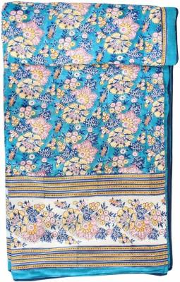 Chhipa Prints Floral Single Dohar Tourquoise