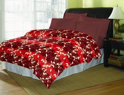 Bella Casa Floral Single Dohar Red