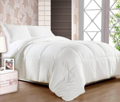 Story @ Home Plain Single Quilts & Comforters White