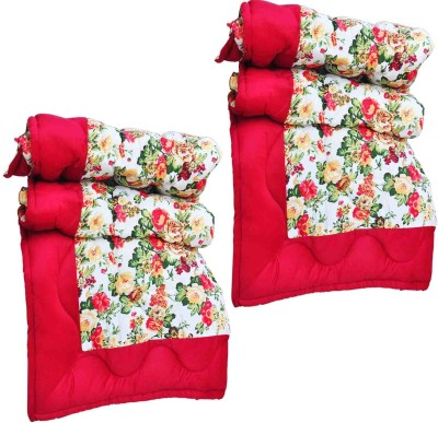 Artisan Creation Floral Single Quilts & Comforters White