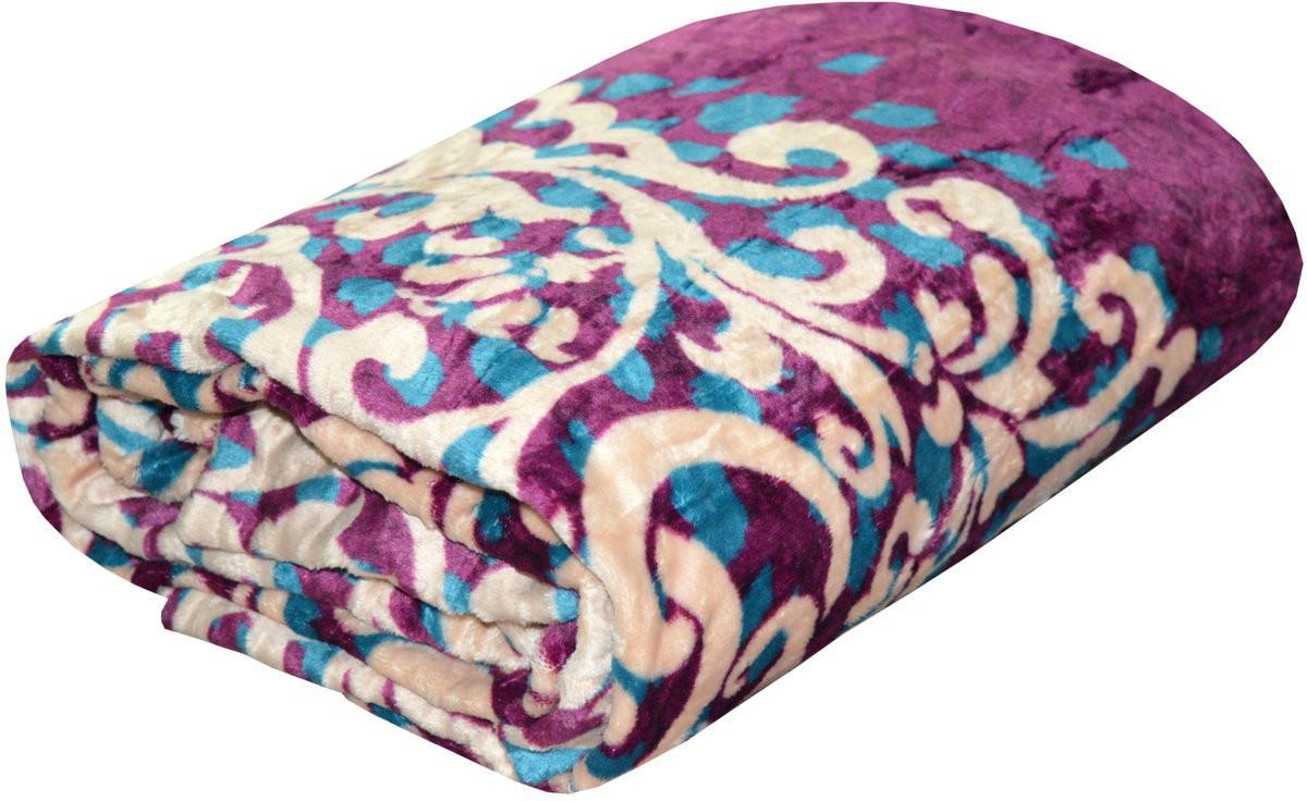 Sleepinns Printed Double Blanket Multicolor(AC Blanket, 1 Double bed Blanket)