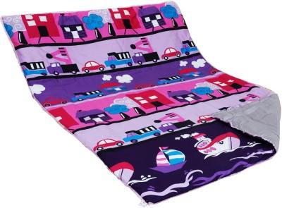 Aurraa Printed Single Quilts & Comforters Violet