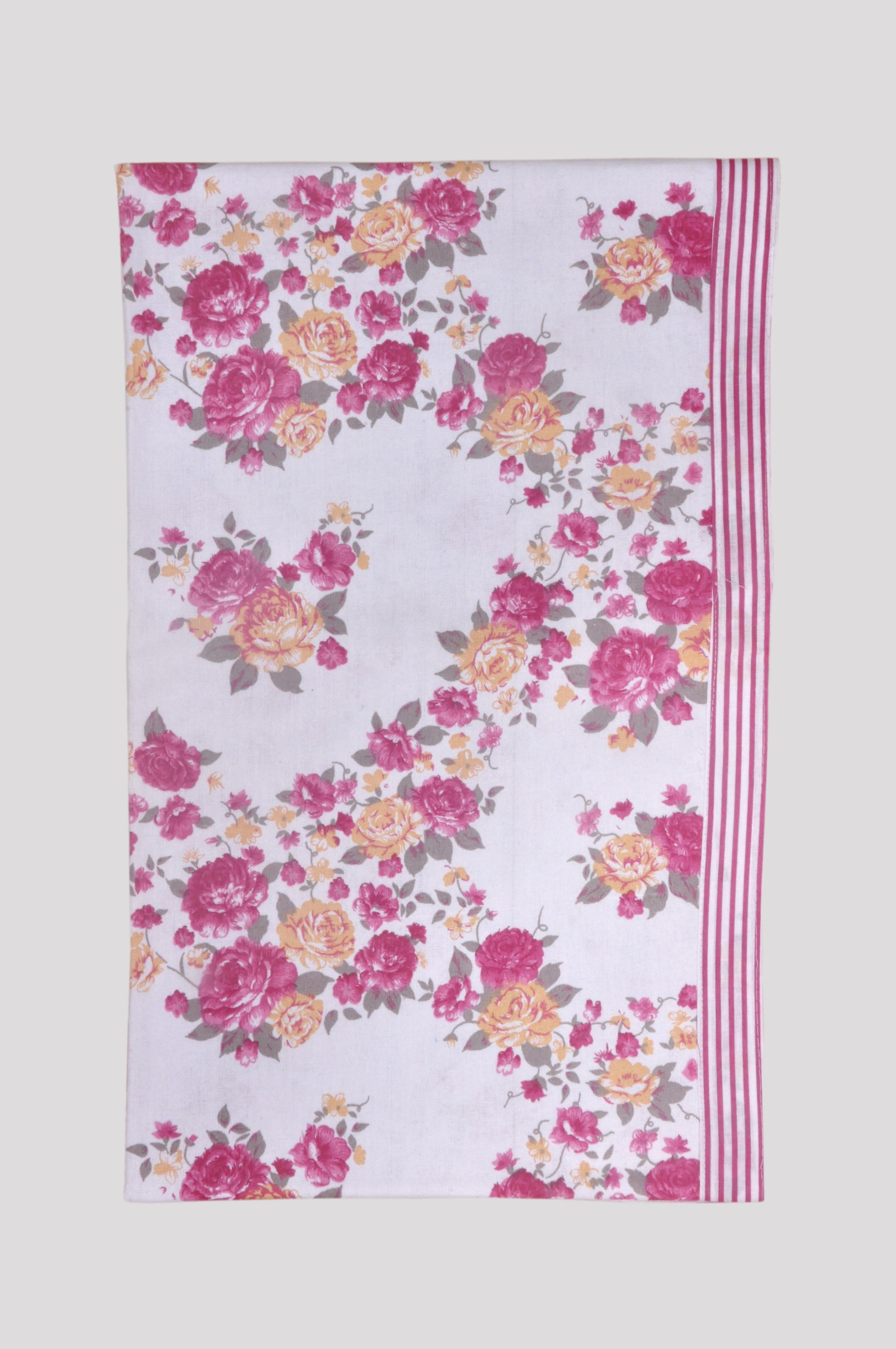 Jass Home Decor Floral Single Blanket Red(AC Blanket)