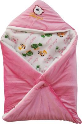 My NewBorn Printed Single Blanket Pink