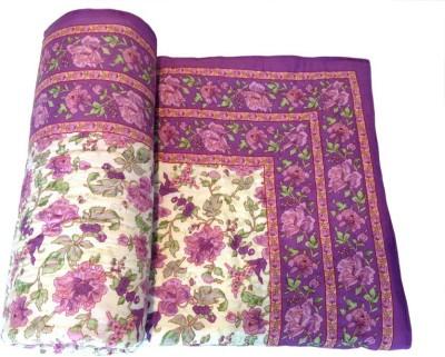 N decor Floral Single Quilts & Comforters Multicolor