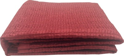 Milano Home Geometric Single Quilts & Comforters Red