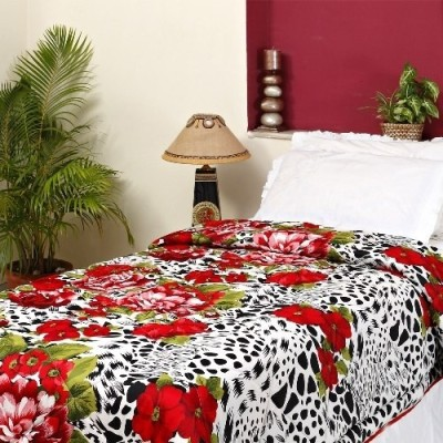 Aapno Rajasthan Floral Single Quilts & Comforters Multicolor