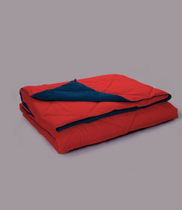 Stoa Paris Plain Single Quilts & Comforters Red(1 Comforter)