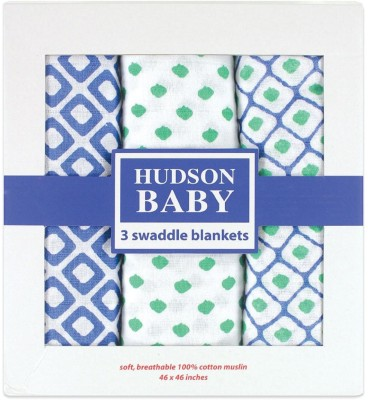 Hudson Baby Geometric Single Dohar Blue