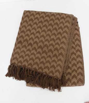 Tezerac Geometric Single Throw Brown
