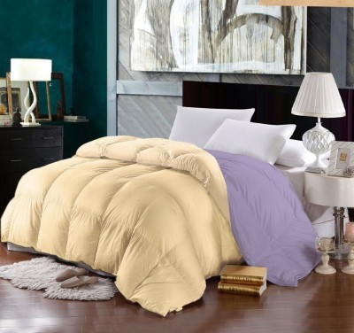 Raymond Home Plain Double Quilts & Comforters Yellow