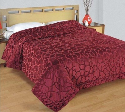 Zyne Abstract Single Quilts & Comforters Maroon