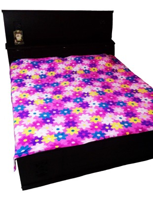 AnnKay Floral Double Blanket Multicolor