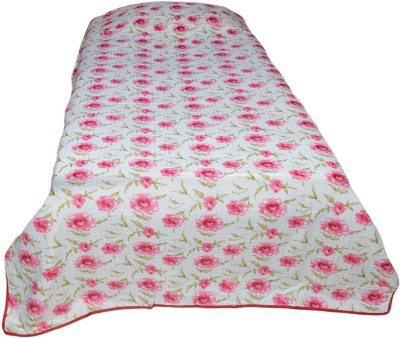 Indian Rack Floral Single Quilts & Comforters Pink