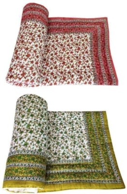 Ruchiworld Polka King Quilts & Comforters Multicolor