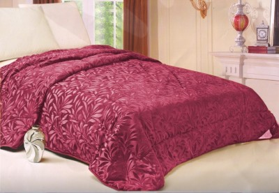 Welhouse Floral Single Quilts & Comforters Pink