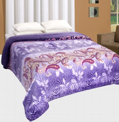 Nite N Day Floral Double Blanket Multicolor