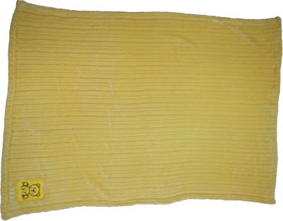 Belle Maison Animal Single Blanket Yellow